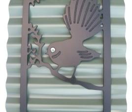 Fantail Silhouette Rivergum